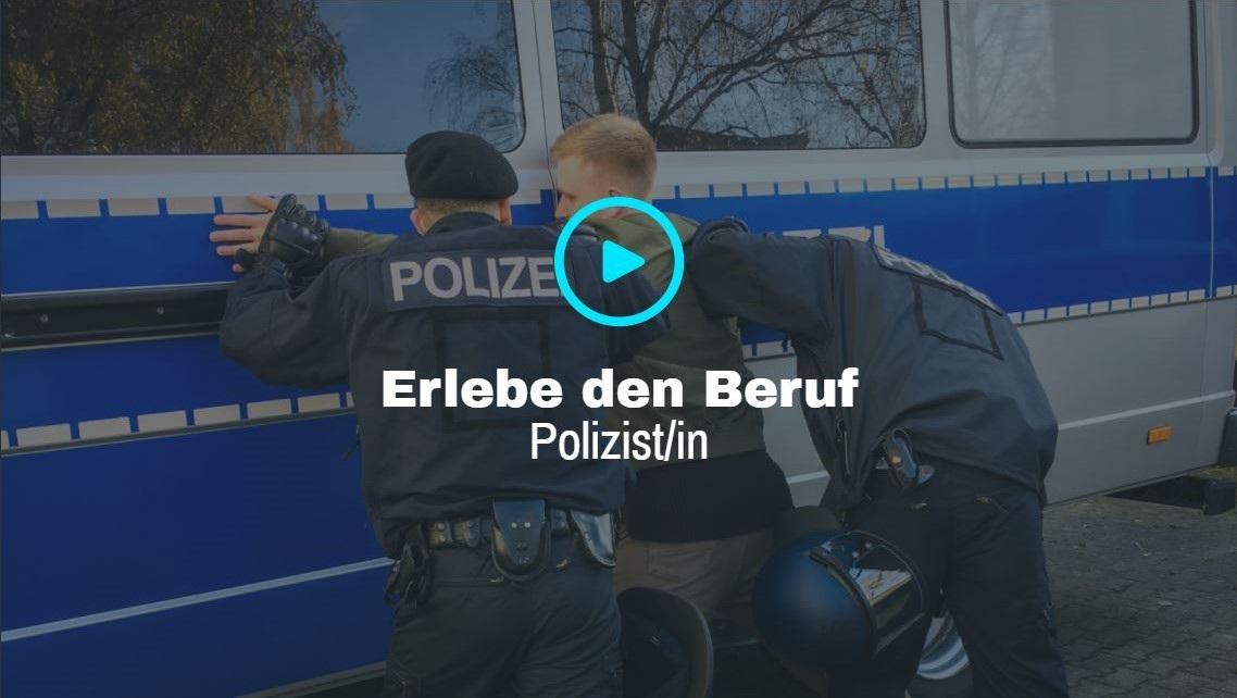 Ausbildung bei der Polizei erleben